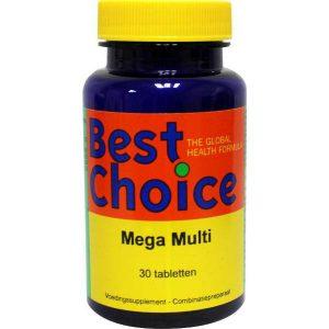 Best Choice Mega Multi Tabletten 30st