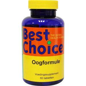 Best Choice Oogformule Tabletten 60st