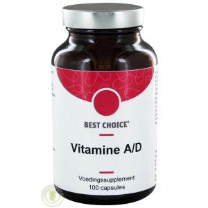 Best Choice Vitamine A D 100st