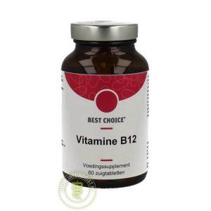 Best Choice Vitamine B12 Tabletten 60st