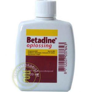 Betadine Jodium Oplossing 120ml