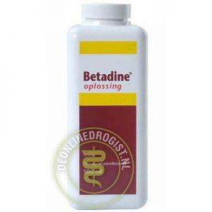 Betadine Jodium Oplossing 500ml