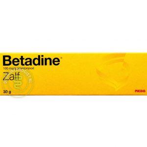 Betadine Zalf Tube 30gr