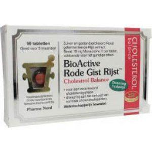 Bio Active Rode Gist Rijst Tabletten 90st