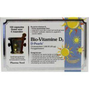 Bio-Vitamine D3 Pearls 120st