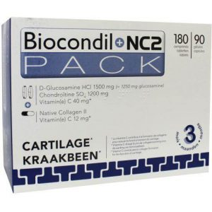 Biocondil & NC2 Duo Tabletten 180 + 90st