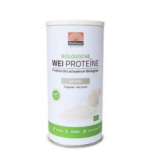 Biologische Weiproteine Naturel (80% eiwit)