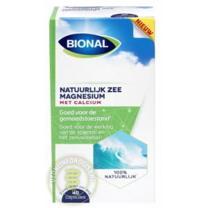 Bional Natuurlijke Zee Magnesium Met Calcium Capsules