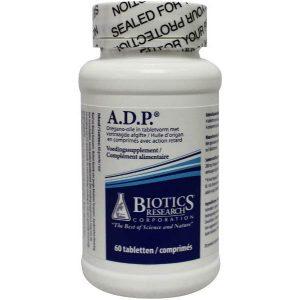 Biotics ADP Oregano Emulsie Time Released Tabletten 60st