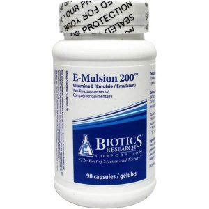 Biotics E-Mulsion 200IE Capsules