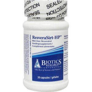 Biotics ResveraSirt-HP Capsules 30st