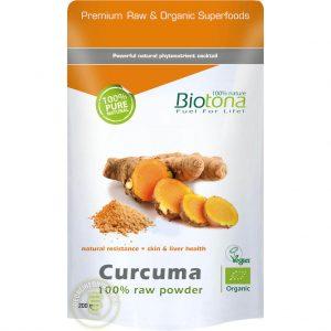 Biotona Curcuma Powder Raw