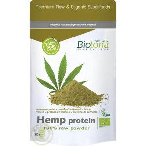 Biotona Hemp Protein Powder Raw