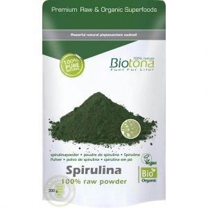 Biotona Spirulina Powder Raw