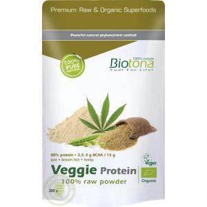 Biotona Veggie Protein Powder Raw