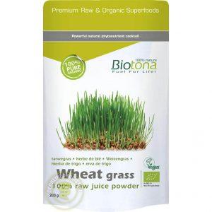 Biotona Wheat Grass Powder Raw