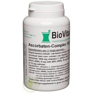 Biovitaal Ascorbaten Complex Capsules 100st
