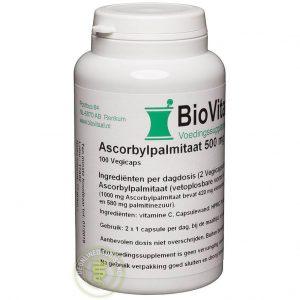 Biovitaal Ascorbylpalmitaat 500mg Capsules