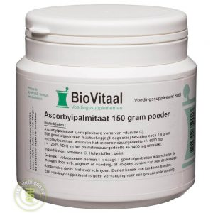 Biovitaal Ascorbylpalmitaat Poeder 150gr