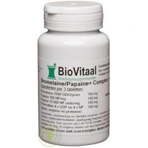 Biovitaal Bromela_ne/Papa_ne Complex Tabletten
