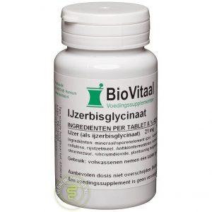 Biovitaal Ijzerbisglycinaat Tabletten