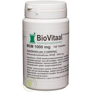 Biovitaal MSM 1000 Tabletten 120st