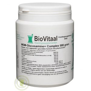 Biovitaal MSM Glucosamine+ Complex Vegetarische Formule Poeder