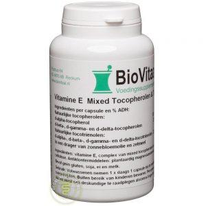 Biovitaal Natuurlijke Vitamine E Mixed Tocopherols - 200 I.E. Capsules