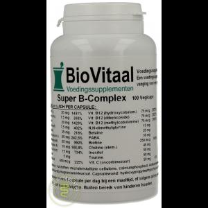 Biovitaal Super B Complex Capsules