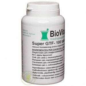 Biovitaal Super GTF Complex Tabletten