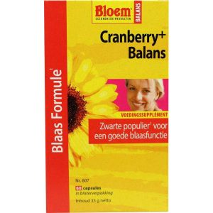 Bloem Cranberry+ Balans Capsules 60st