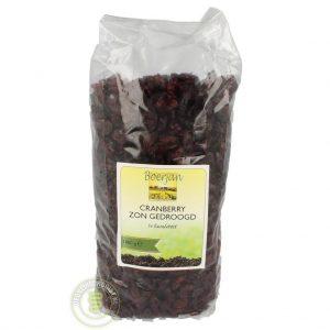 Boerjan Cranberries 1000gr