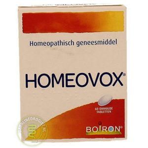 Boiron Homeovox Omhulde Tabletten