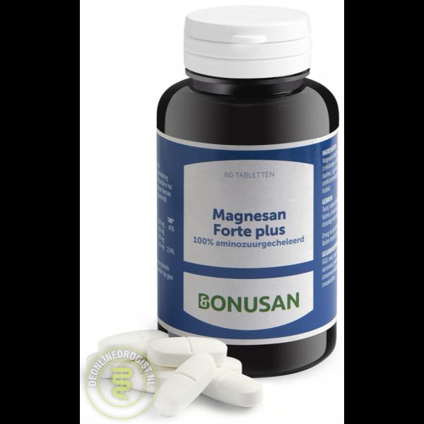 Bonusan Magnesan Forte Plus Tabletten 60st