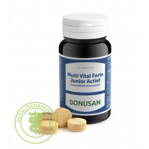Bonusan Multi Vital Forte Junior Actief Tabletten