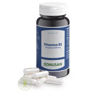 Bonusan Vitamine B1 Thiamine 300mg Capsules