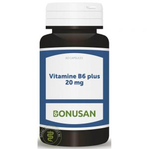 Bonusan Vitamine B6 Plus 20mg Capsules
