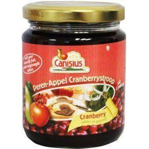 Canisius Stroop Cranberry Appel Peren