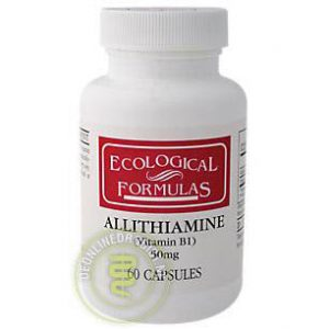 Cardiovascular Research Allithiamine 50mg Capsules