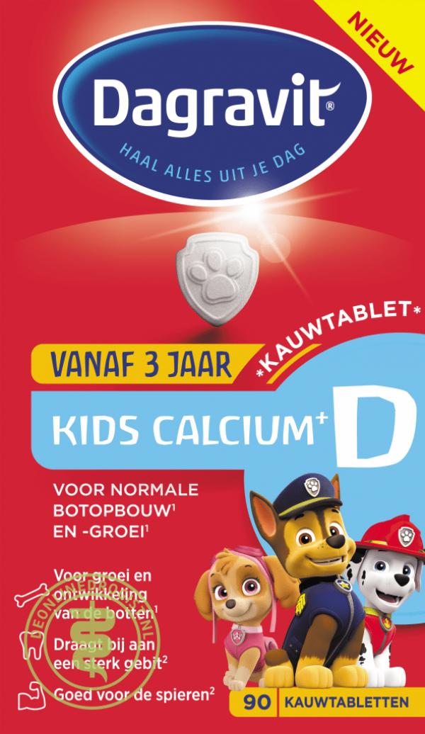 Dagravit Kids Calcium+D Kauwtabletten