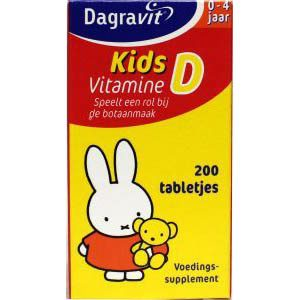 Dagravit Kids Vitamine D Tabletten 200st