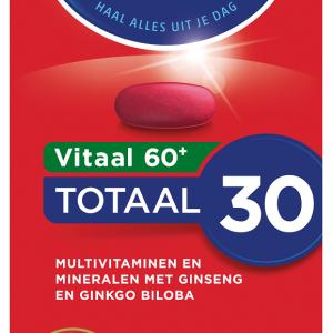 Dagravit Totaal 30 Xtra Vitaal 60+ Tabletten 60st