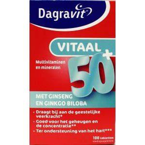 Dagravit Vitaal 50+ Tabletten 100st
