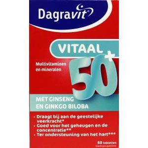 Dagravit Vitaal 50+ Tabletten 60st