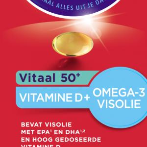 Dagravit Vitaal 50+ Vitamine D + Omega-3 Visolie Capsules