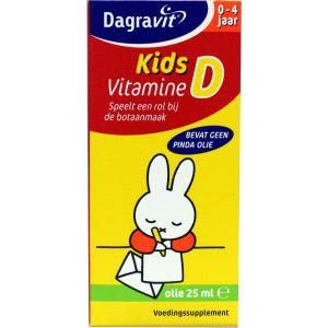 Dagravit Vitamine D Kids Druppels Olie