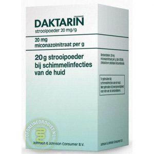 Daktarin Strooipoeder 20mg Miconazol