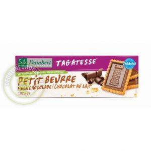 Damhert Tagatesse Petit Beurre Koekjes Melkchocolade
