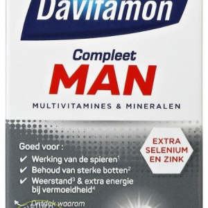 Davitamon Compleet Man Tabletten