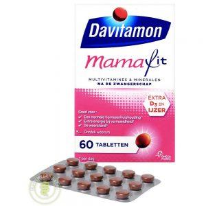 Davitamon Mamafit Tabletten 60st